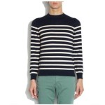 A.P.C.'s Striped, Wool Pullover