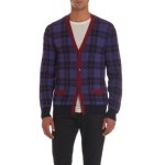 Marc by Marc Jacobs 100% Wool, Plaid Cardigan