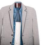 Blue or Gray Blazer