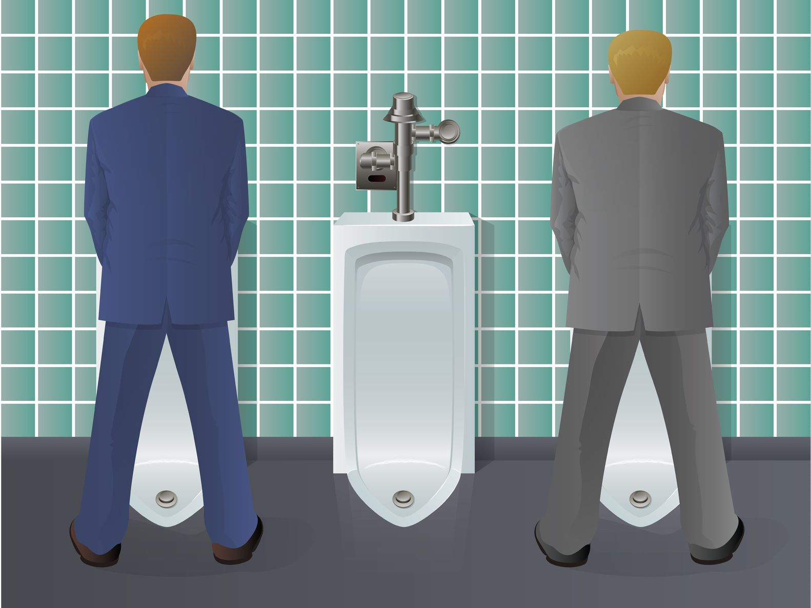 Just The Tips Men S Restroom Etiquette 171 Weekly Gravy