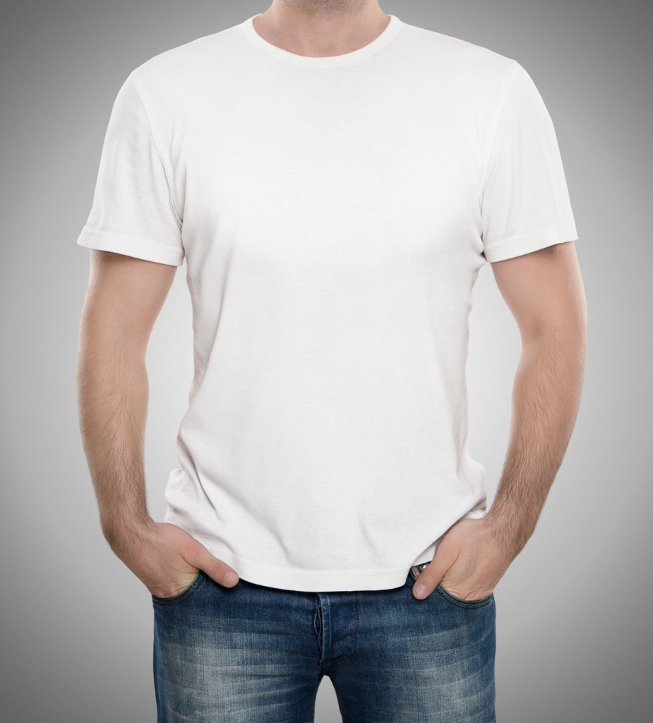 White T Shirt Front 7 clothing items every man should own « weekly ...