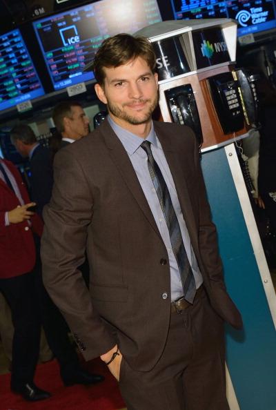 Ashton Kutcher Rings NYSE Opening Bell