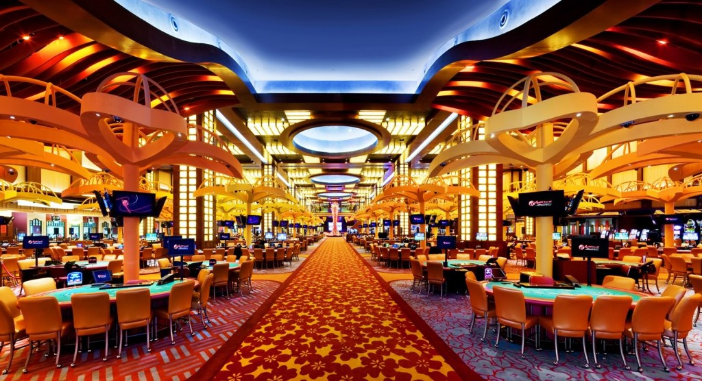 image of empty casino