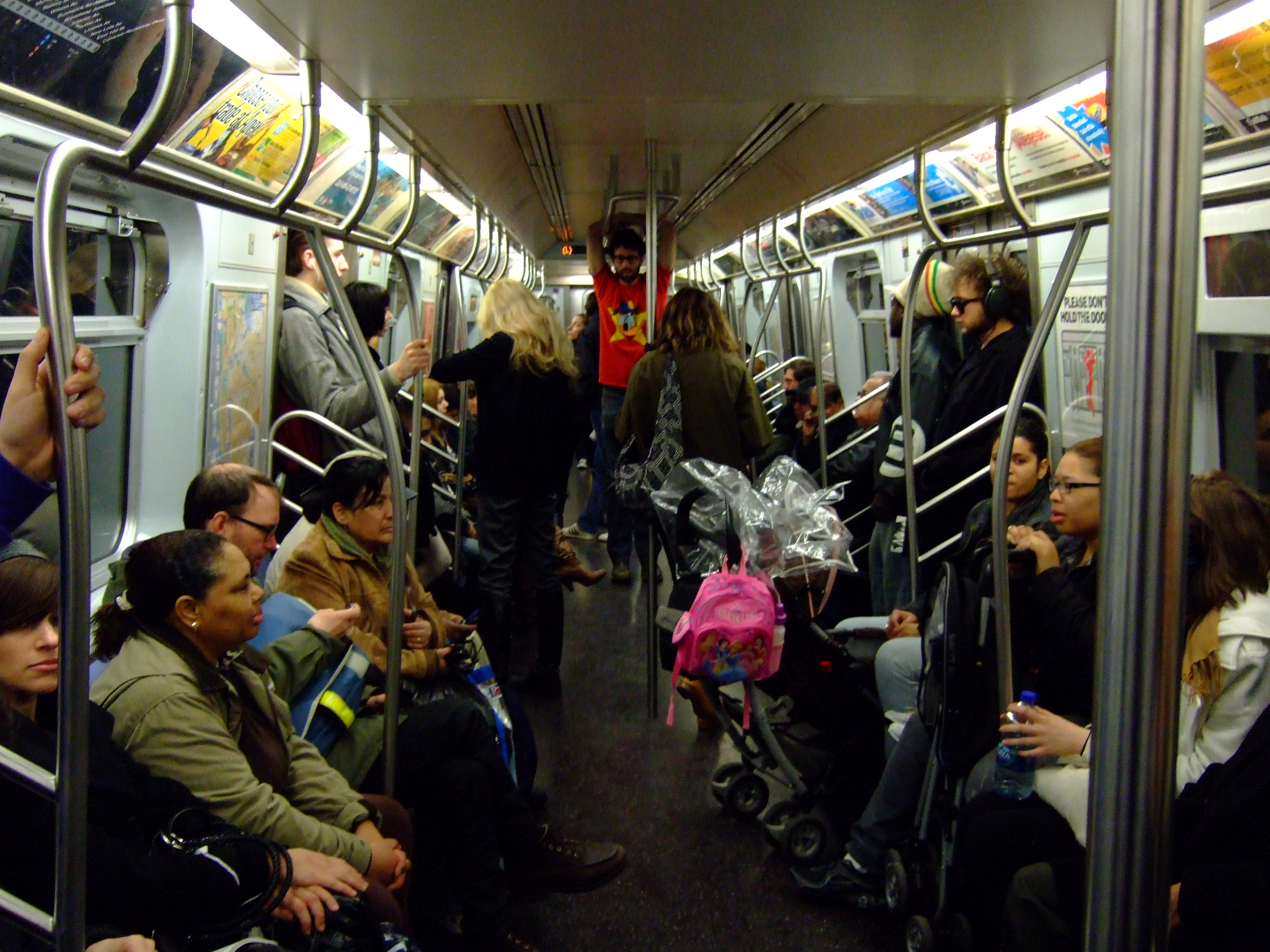 The People You See on the New York City Subway « Weekly Gravy