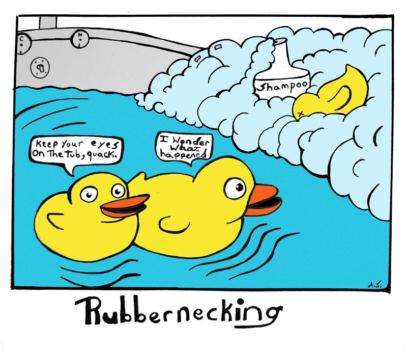 Rubbernecking