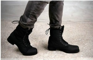 Mens Fashion Combat Boots