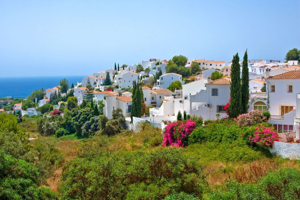 Spanish landscape, Nerja, Costa del Sol, Spain