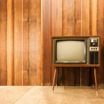 37313663 - old vintage television or tv in room